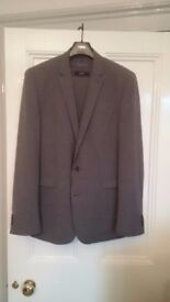 REDUCED* Next grey 3-piece wool suit, hardly worn