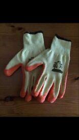 Heavy duty latex gloves