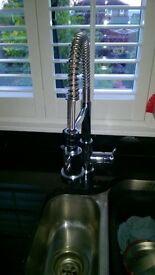 Professional kitchen spray tap