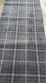 Brand new tartan carpet offcuts