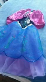 New Frozen Anna Costume age 5-6