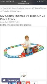 Thomas & Friends Ride On Train and 22 Piece Track Set