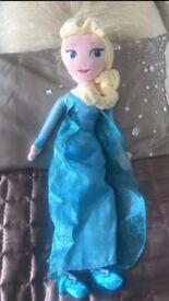 Disney Store Soft Toy Doll Elsa