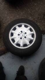 Mercedes 15 alloys x 4 only 200pounds