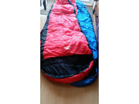 Trespass Doze Three Season sleeping bag Size 230/85/55cm Perfect condition used Once