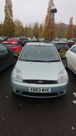 Ford Fiesta 1.4L Petrol. Recently changed engine, clutch, break discs and a few other minor things.