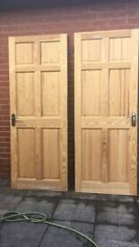 2 internal doors 20 pounds.