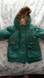 Winter coat, marks and Spencers , 9 - 12 months