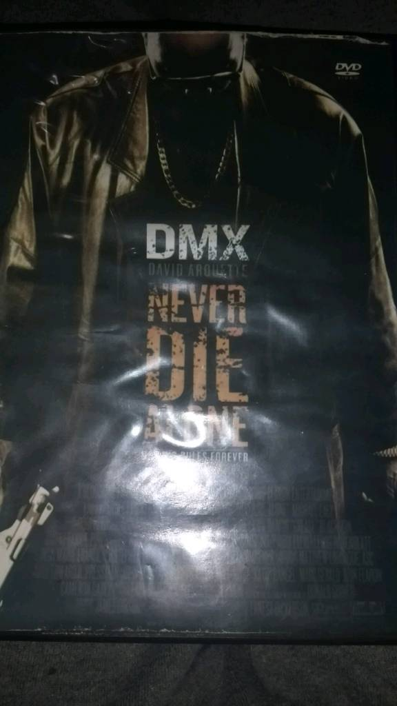 DMX NEVER DIE ALONE. NO KING RULES FOREVER
