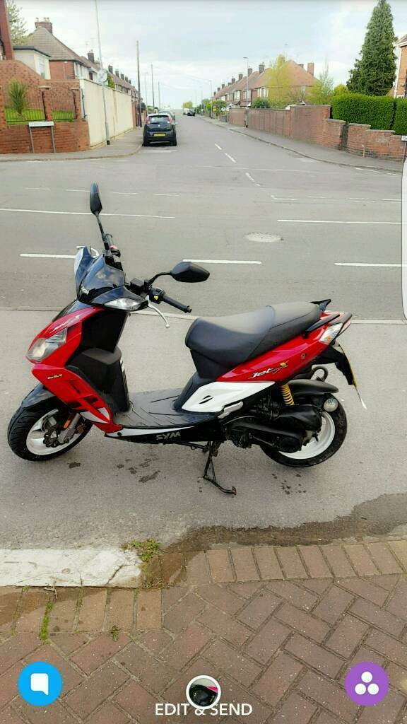 Moped Sym jet sport X (LOW MILEGE)
