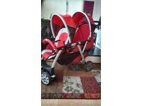 Chicco Cortina double pushchair