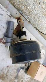 Master cylinder and servo for Ford Transit van