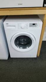 New graded Beko 9kg washing machine with 12 months guarantee