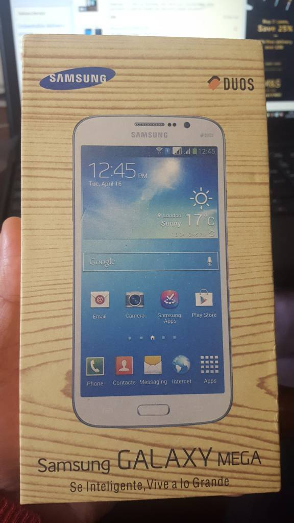 Samsung Galaxy Mega Duos Gt i9152 14 days stock like brand new Great 5.8inch lcd screen