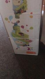 Funtivity playhouse with slide climbing frame