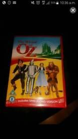 Brand new Wizard of Oz dvd