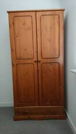 wardrobes 2 doors and drawer for sale