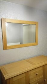 wooden mirror from sterling furniture