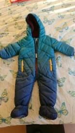 Ted baker snowsuit 6-9 months New