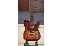 Squier telecaster modified