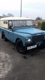 1971 Landrover series lwb 109 hard top.3.9 diesel , historic vehicle. Tax exempt. Excellent 4x4.