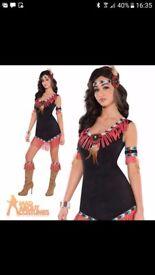 Indian fancy dress costume - size 12/14