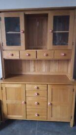 Solid Oak Welsh Dresser.