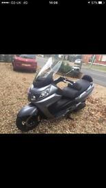 Sym Maxsym 400i maxi scooter, 62 reg, under 4500 miles, VGC, 1 previous owner