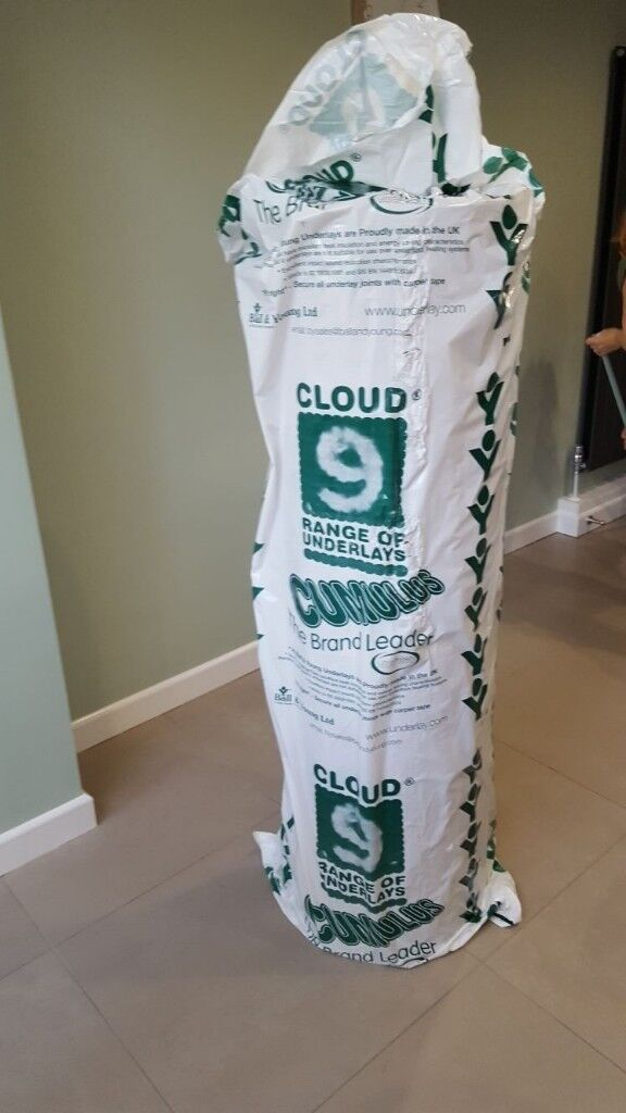 2 x Carpet Underlay Cloud 9 luxury 11mm thick, best you can buy.