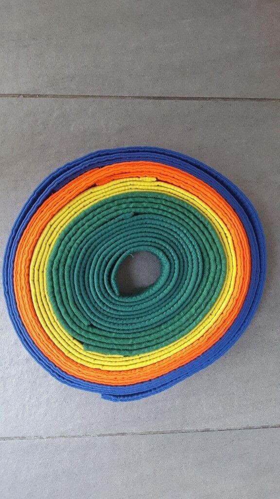 Coloured grade belts