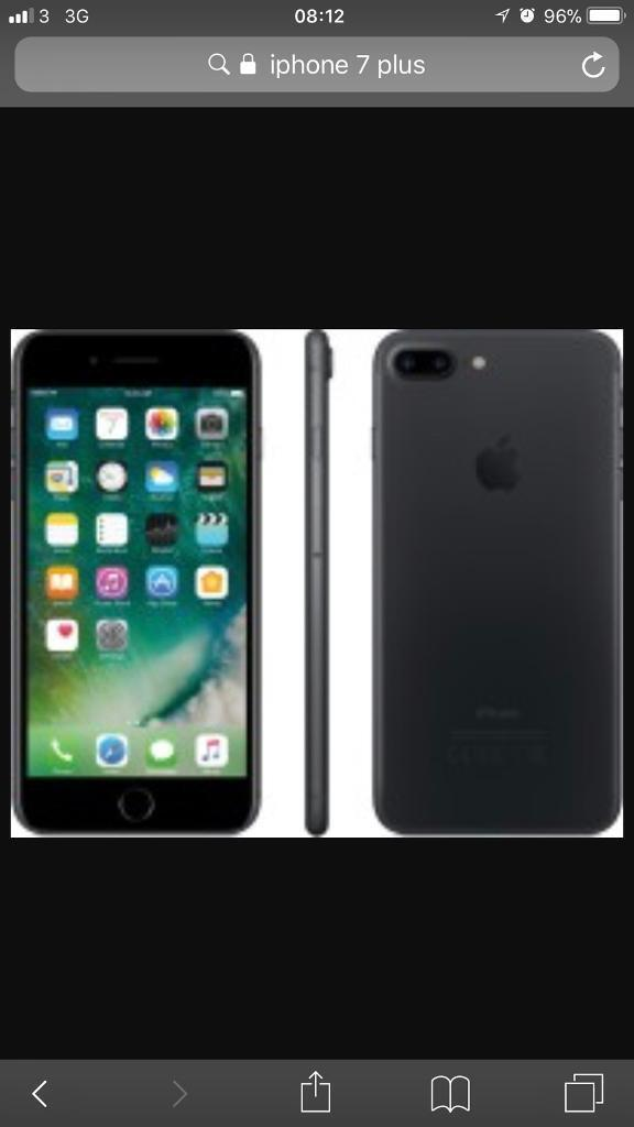 Iphone 7 plus 32gb unlocked or swap with iphone 8