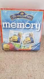 Chugginton Memory Game