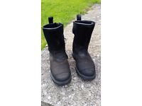 Halvarsson OUTLAST Motorcycle boots with VERY little wear size 40