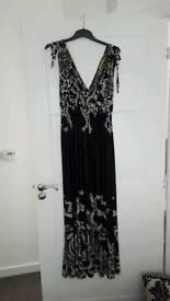 bnwot black and white ladies summer dress