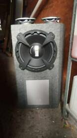 Sub and amp and 3 sets of door speakers