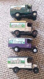 4x corgi lorries elizabeth collection