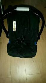 Baby's pram and a car seat in excellent condition