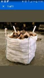 Fire wood logs seasoned