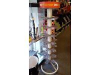 7 Tier DVD Shop Display Spinner