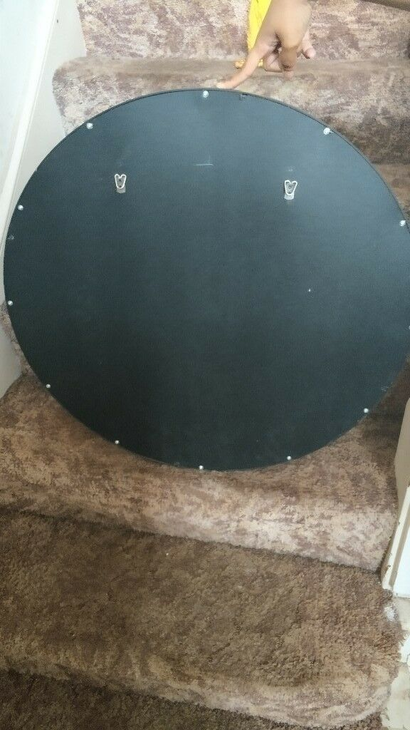 Large Round Mirror Perfect Condition