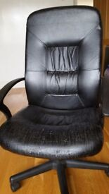 USED MODERN SWIVEL EXECUTIVE COMPUTER OFFICE STUDY DESK CHAIR