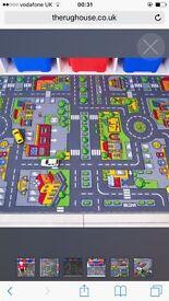 Children's car rug
