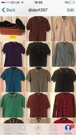 Fred perry shirts in good condition. Medium slim-fits.