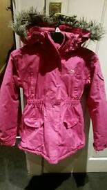 Girls 9 to 10yrs Trespass Insulated School Coat