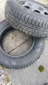 13 inch firestone tyres, new