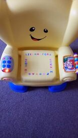 Fisher price laugh and learn chair MUST GO!
