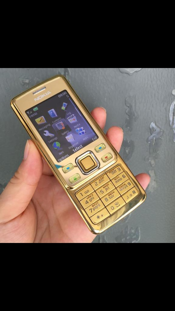Nokia 6300 gold brand new open to all network
