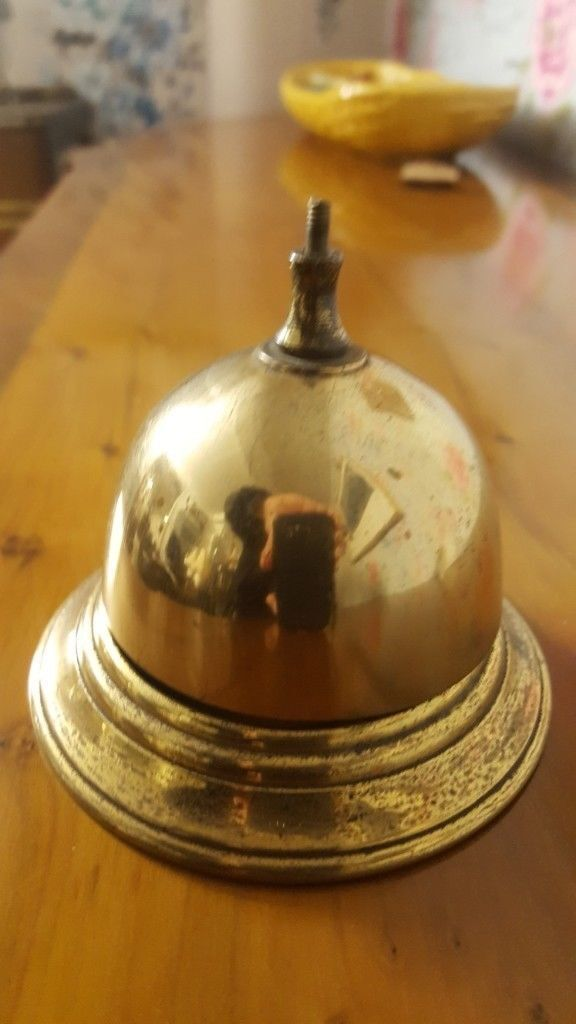 Outstanding Antique Brass Front Desk Bell In Anniesland Glasgow Gumtree Home Interior And Landscaping Oversignezvosmurscom