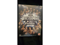 Wrestle Mania 25th Anniversary 3 DVD Set Silver Vision