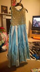Girls dress aged 10 and 11